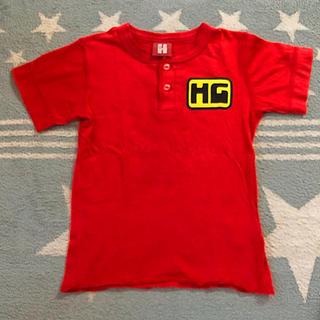 ヒステリックミニ(HYSTERIC MINI)のヒスミニ★ヘンリーネック Tシャツ(Tシャツ/カットソー)