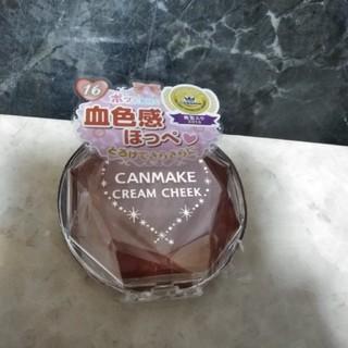 キャンメイク(CANMAKE)の●新品 キャンメイク クリームチーク 16(チーク)