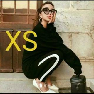 H&M - 新品!H&M サイドライン レギンス XS  GYDA MOUSSY SLY