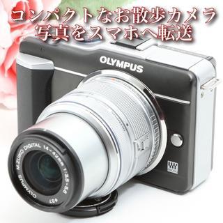 OLYMPUS - ★スマホへ写真を転送★コンパクトなお散歩カメラ★オリンパス   E-PL1