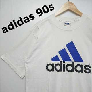 アディダス(adidas)の576 adidas 90年代製 デカロゴ Tシャツ 希少 ビッグシルエット(Tシャツ/カットソー(半袖/袖なし))