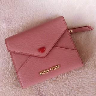 miumiu - ❤︎ miumiu ❤︎ 折りたたみ財布 ❤︎