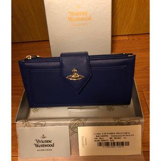 Vivienne Westwood - VivienneWestwood コンパクト 長財布 ネイビー 新品未使用