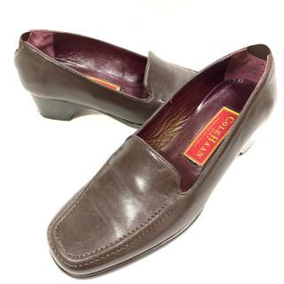 コールハーン(Cole Haan)のCole Haan 約21.5cm 4 レザーローファー パンプス 革靴 本革(ローファー/革靴)