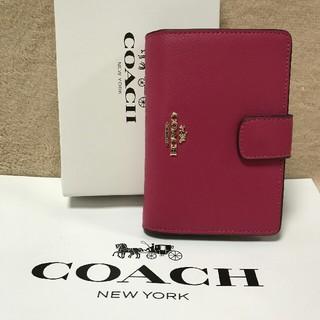 コーチ(COACH)の新品COACHコーチ二つ折り財布で国内発送 F53436(折り財布)