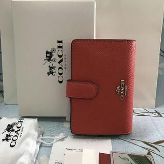 コーチ(COACH)の新品COACHコーチ二つ折り財布で国内発送 F22977(折り財布)