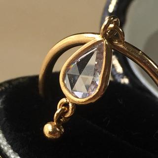 H.P.FRANCE - 22K ダイヤモンド スイング リング jaipur jewelry
