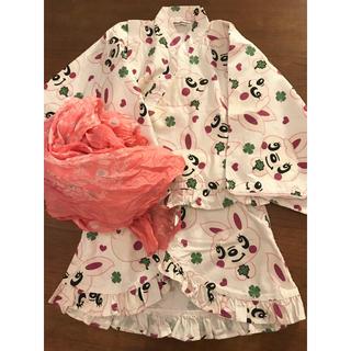 ヒステリックミニ(HYSTERIC MINI)のヒステリックミニ 浴衣 120 ヒスミニ   (甚平/浴衣)