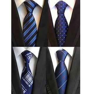 ★★大人気★★ メンズネクタイ   洗える  ビジネス   お得な4本セット