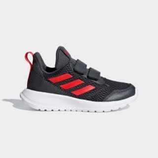 アディダス(adidas)の新品未使用タグ付きアディダスadidasスニーカー24グレー赤メッシュ(スニーカー)