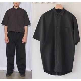 COMOLI - 新品 19SS COMOLI 半袖シャツ 黒 2 ブラック