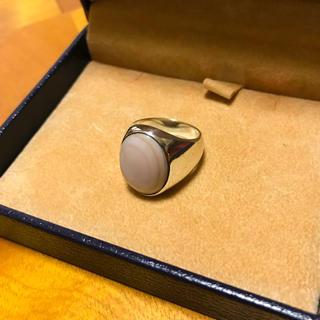 ピンクシェル × シルバー 925 リング(リング(指輪))