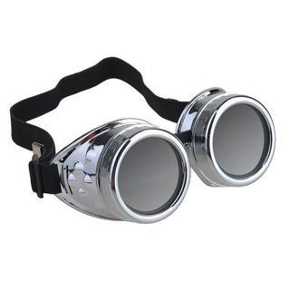 (新品) コスプレ ヴィンテージ写真メガネ サイバーゴーグル サングラス 眼鏡(小道具)
