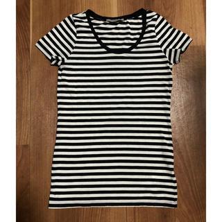 アズールバイマウジー(AZUL by moussy)のボーダー Tシャツ(Tシャツ(半袖/袖なし))