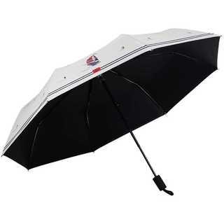 手動晴れ雨兼用傘 軽量 UV 折りたたみ 遮 光 携帯便利 おしゃれ 海軍系(傘)