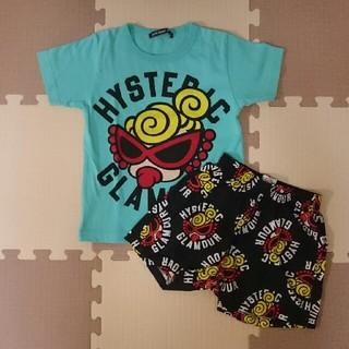 ヒステリックミニ(HYSTERIC MINI)のTシャツ&ステテコセット☆100cm(Tシャツ/カットソー)