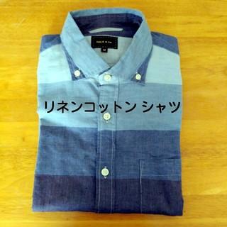 メイルアンドコー(MALE&Co.)の【MALE&Co】リネンコットン カジュアルシャツ(シャツ)