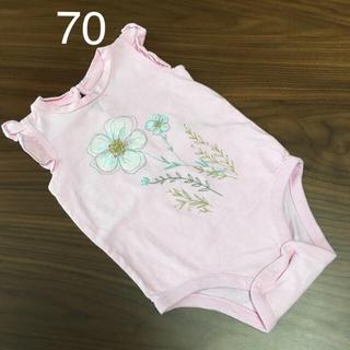 ベビーギャップ(babyGAP)の70 ロンパース  (ロンパース)