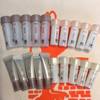 ドモホルンリンクル 美活肌エキス 保湿液 クリーム20  保護乳液 各5本
