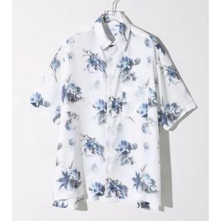 STUDIOUS - 【STUDIOUS】NEWダークフラワービッグシルエットシャツ ホワイト 2