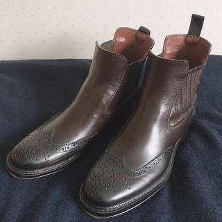 コムサイズム(COMME CA ISM)のコムサ メンズ レインブーツ 27〜28センチOK(長靴/レインシューズ)