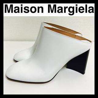 マルタンマルジェラ(Maison Martin Margiela)の️️新品未使用 Maison Margiela サボ ホワイト 35 1/2(スリッポン/モカシン)