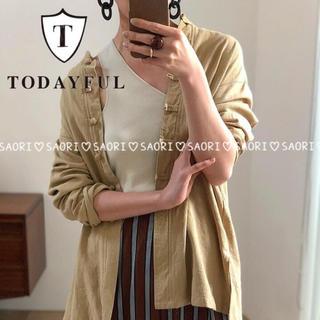 TODAYFUL - TODAYFUL【未使用に近い】Linen China Shirts