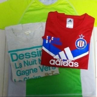アディダス(adidas)のキッズ Tシャツ 150 3枚(Tシャツ/カットソー)