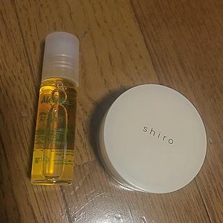 メルヴィータ(Melvita)のネイルオイル、練り香水(香水(女性用))
