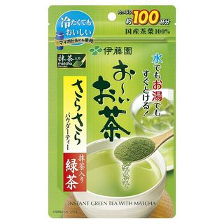 伊藤園 - インスタント日本茶 おーいお茶 抹茶入りさらさら緑茶 80g