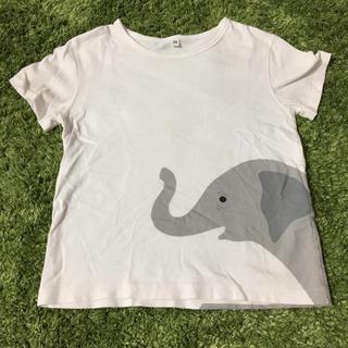 MUJI (無印良品) - 無印 ぞうTシャツ 120