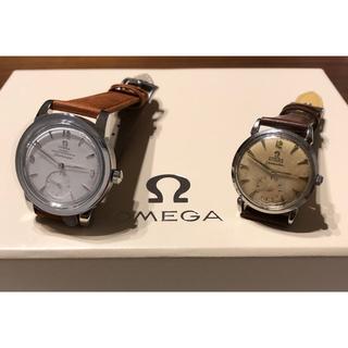 オメガ(OMEGA)の【新品】オメガシーマスター1948スモールセコンド&初代シーマスター奇跡のセット(腕時計(アナログ))
