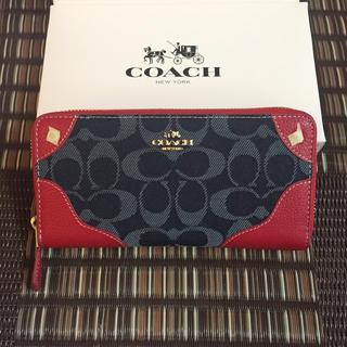 COACH - COACH 財布 新品正規品✨箱&紙袋付き🎀  即納◎ギフト🎁におススメ❣️