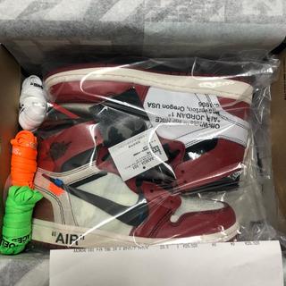 Off-White x Air Jordan 1 Chicago 希少 23.5