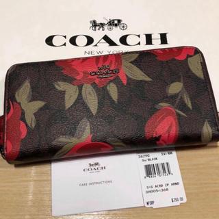 COACH - ★売り尽くしセール★COACH★長財布★薔薇★バラ