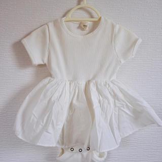 新品 韓国子供服人気ブランド monbebe ロンパース(ロンパース)