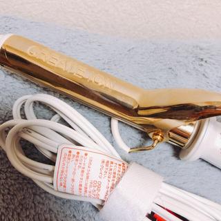 クレイツヘアアイロン グレイスカール26mm 海外兼用(ヘアアイロン)