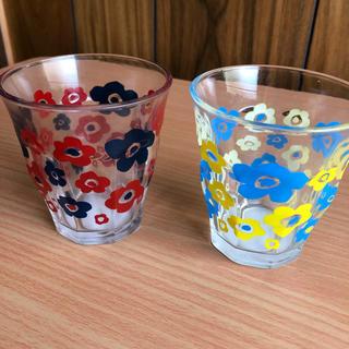 ガラスコップ セット 花柄 フラワー (グラス/カップ)
