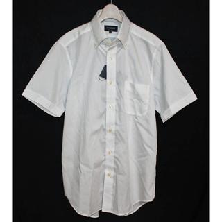 573d41f5cee098 《マッケンジー》新品 半袖 ストライプドレスシャツ ボタンダウン Lサイズ(シャツ)