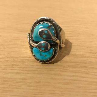 ズニ族 インディアンジュエリー リング 26号(リング(指輪))