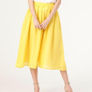 ティアラ(tiara)の【専用】ティアラ♡イエロー♡スカート(ロングスカート)