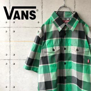 ヴァンズ(VANS)の【激レア】 VANS バンズ ブロック チェック スケーター シャツ(シャツ)