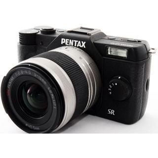 ペンタックス(PENTAX)の❤️可愛いボディで持ち運び楽々❤️スマホにも❤️ペンタックス Q10 ブラック(ミラーレス一眼)