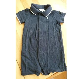 ポロラルフローレン(POLO RALPH LAUREN)のラルフローレン  ベビーポロシャツ  70cm(カバーオール)