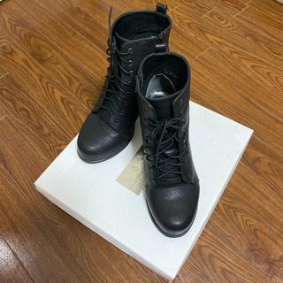 ローリーズファーム(LOWRYS FARM)のショートブーツ ローリーズファーム 黒(ブーツ)