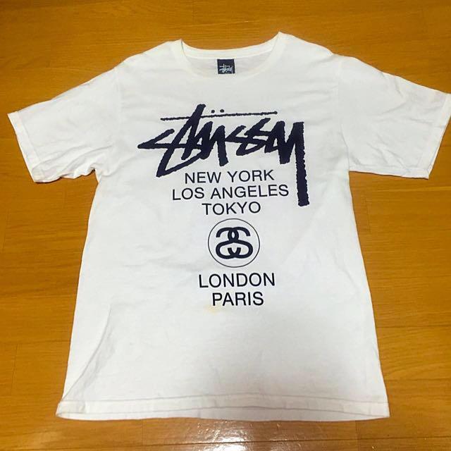 STUSSY(ステューシー)のSTUSSY白Tシャツ レディースのトップス(Tシャツ(