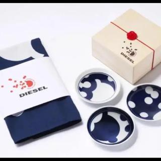 ディーゼル(DIESEL)のディーゼル ジャパン 30周年 記念 ノベルティ 豆皿 風呂敷 セット(食器)