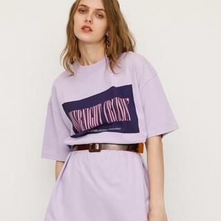 スライ(SLY)のTWILIGHT BOX LOGO T/SH (Tシャツ/カットソー(半袖/袖なし))