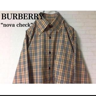 バーバリーブラックレーベル(BURBERRY BLACK LABEL)のBURBERRY 【人気】ノヴァチェック シャツ(シャツ)