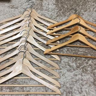 IKEA - 〈IKEA イケア〉木製ハンガー2種 計14本セット